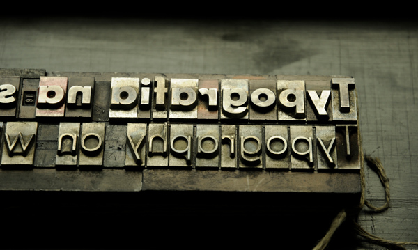 Typografia naSzybach